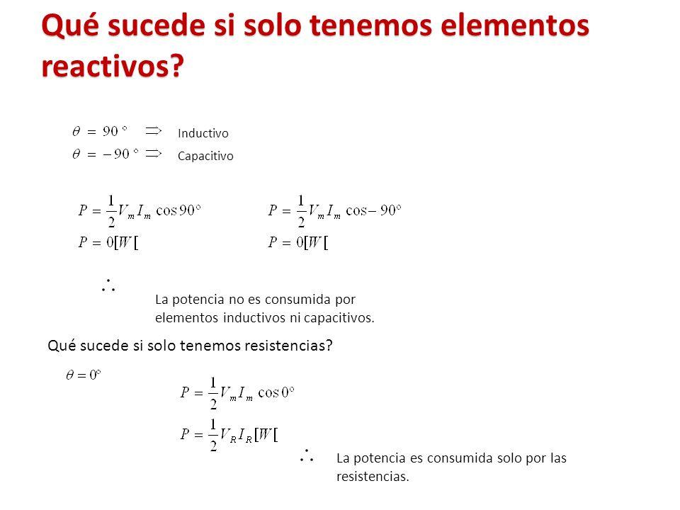 Qué sucede si solo tenemos elementos reactivos