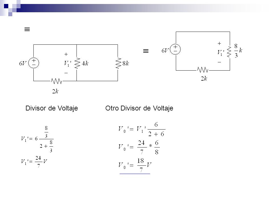 Divisor de Voltaje Otro Divisor de Voltaje