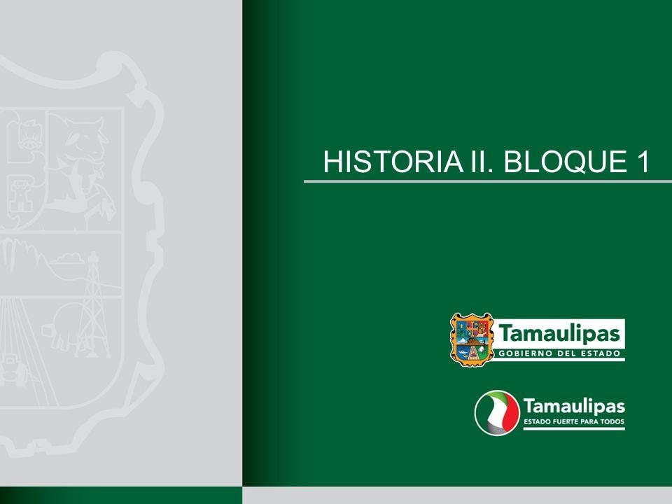 HISTORIA II. BLOQUE 1