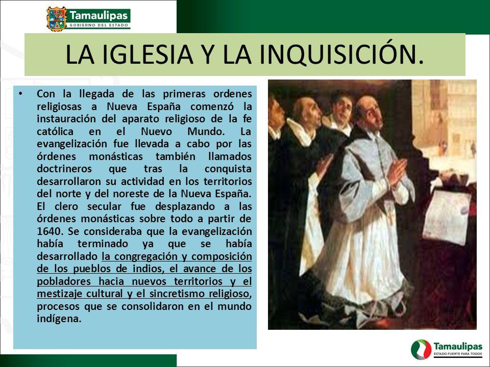 LA IGLESIA Y LA INQUISICIÓN.