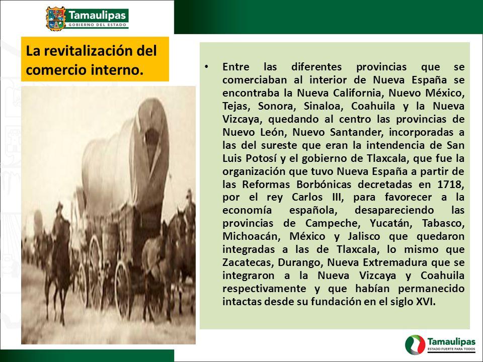 La revitalización del comercio interno.