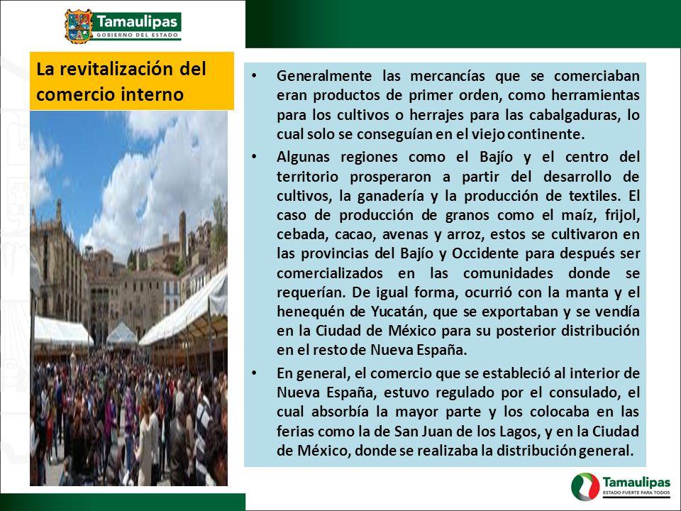 La revitalización del comercio interno