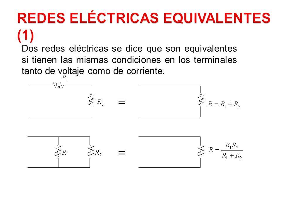 Redes Eléctricas Equivalentes (1)