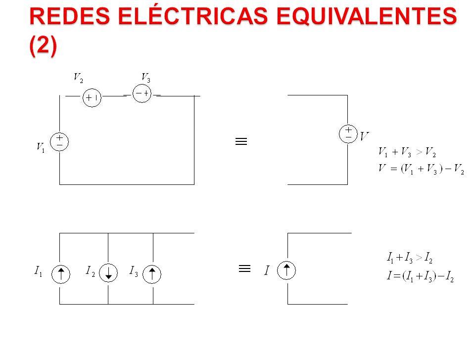 Redes Eléctricas Equivalentes (2)