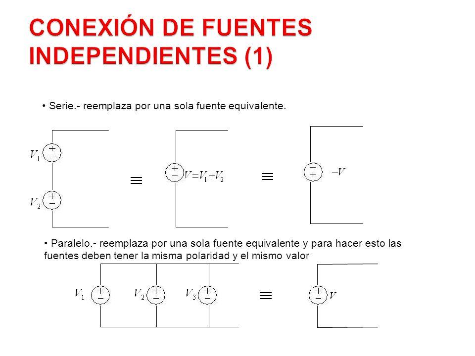Conexión de Fuentes Independientes (1)