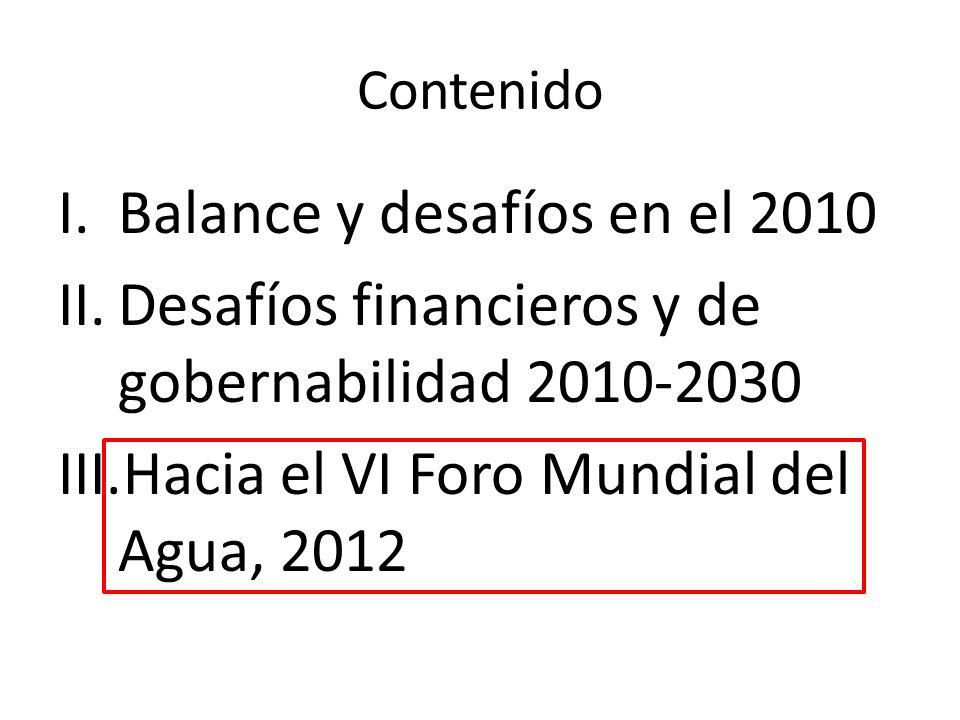 Balance y desafíos en el 2010