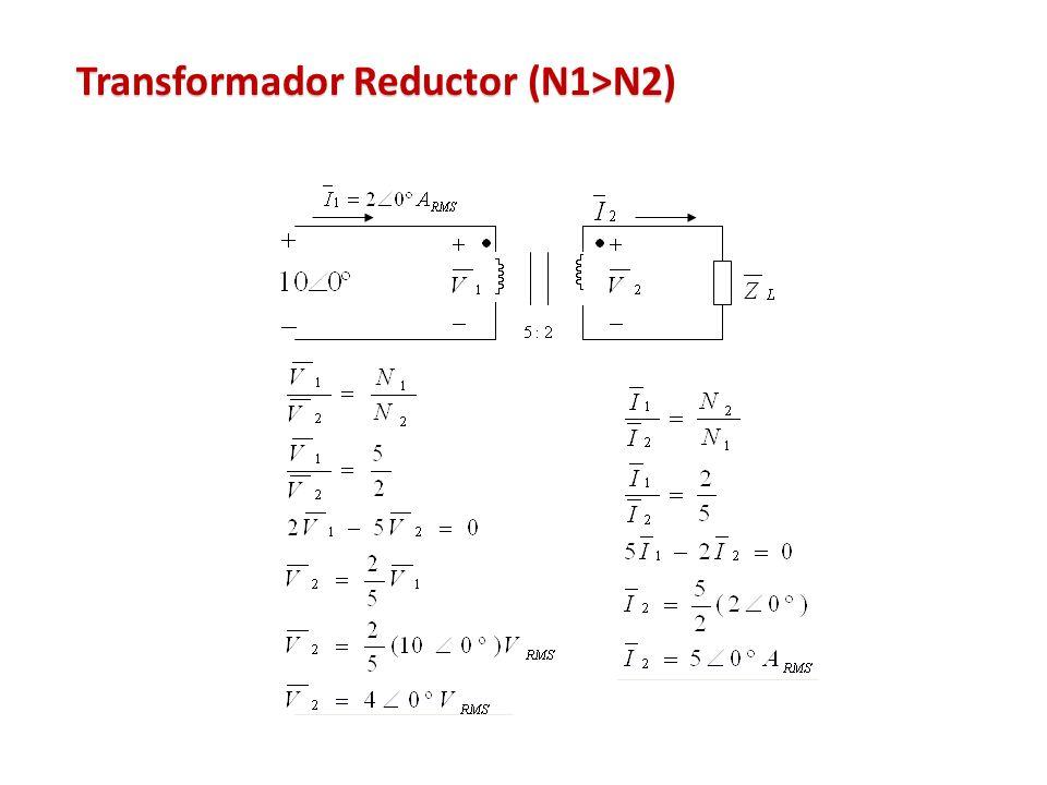 Transformador Reductor (N1>N2)