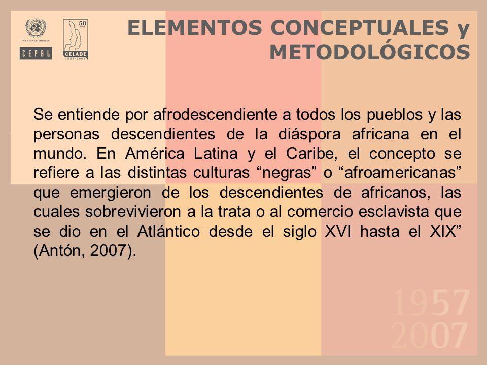ELEMENTOS CONCEPTUALES y METODOLÓGICOS
