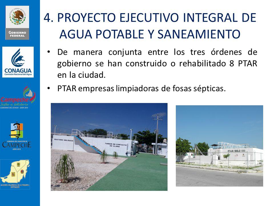 4. PROYECTO EJECUTIVO INTEGRAL DE AGUA POTABLE Y SANEAMIENTO