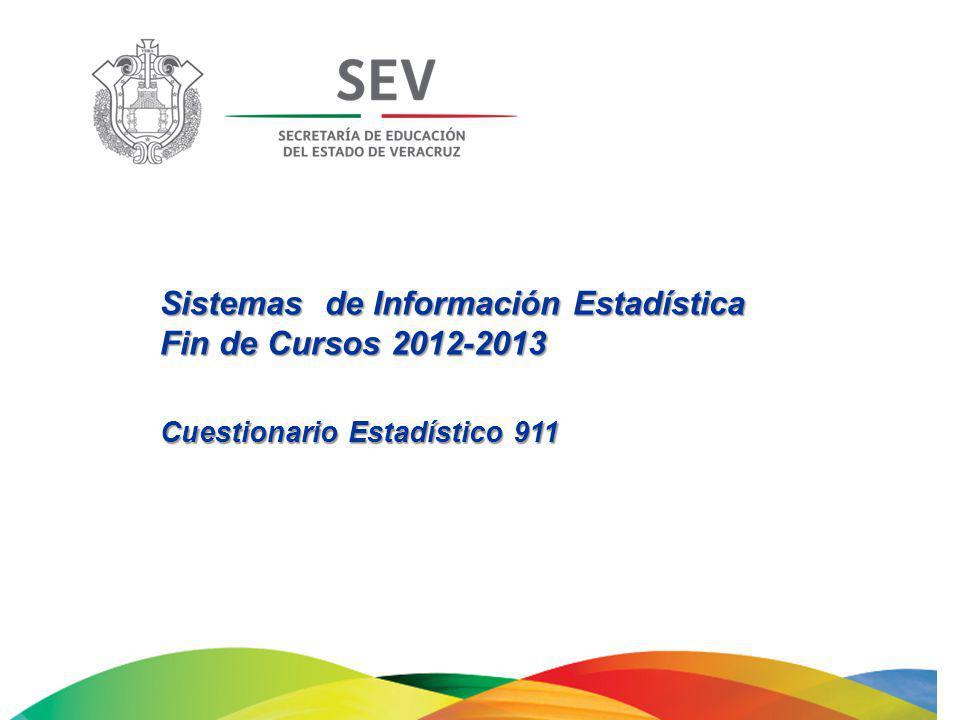 Sistemas de Información Estadística Fin de Cursos 2012-2013