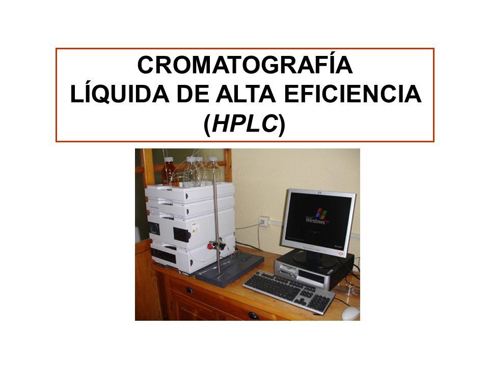 LÍQUIDA DE ALTA EFICIENCIA (HPLC)