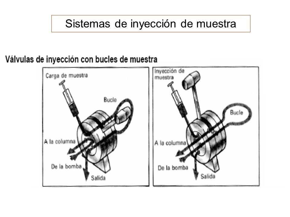 Sistemas de inyección de muestra
