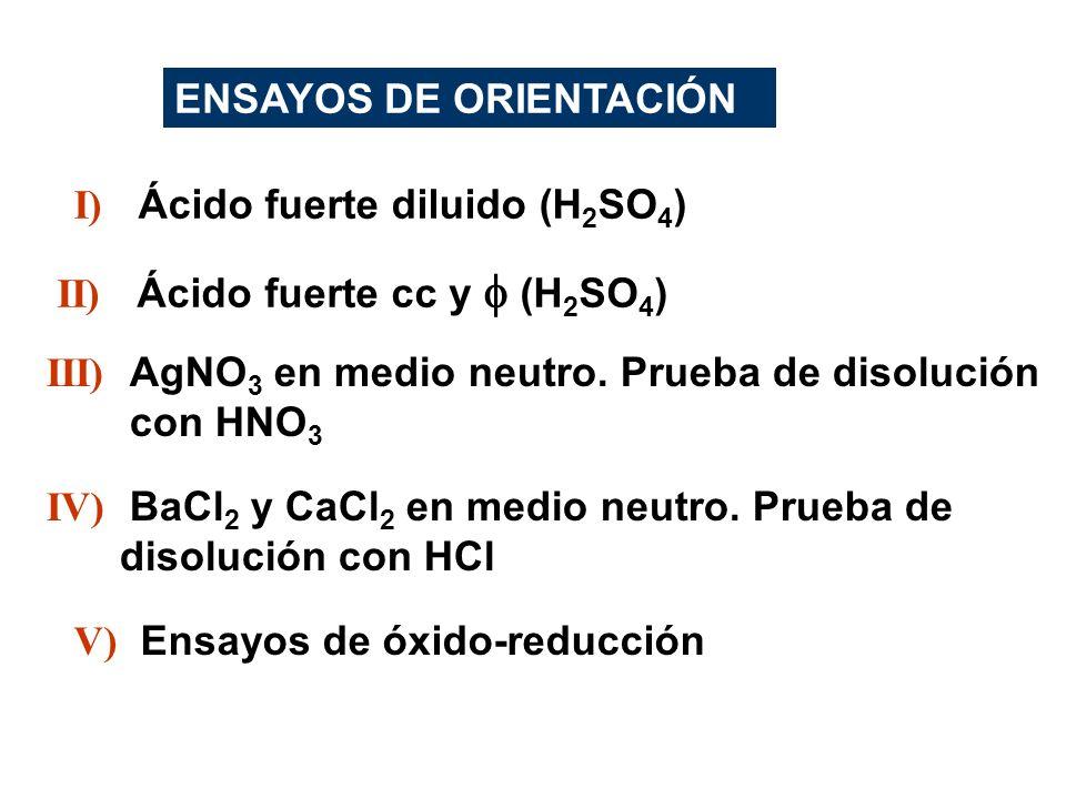 ENSAYOS DE ORIENTACIÓN