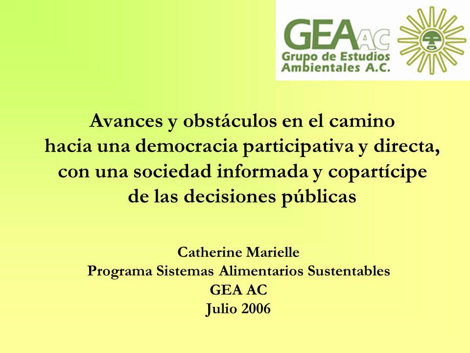 Programa Sistemas Alimentarios Sustentables