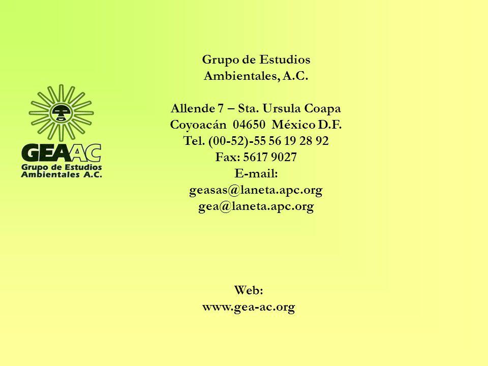 Grupo de Estudios Ambientales, A.C.