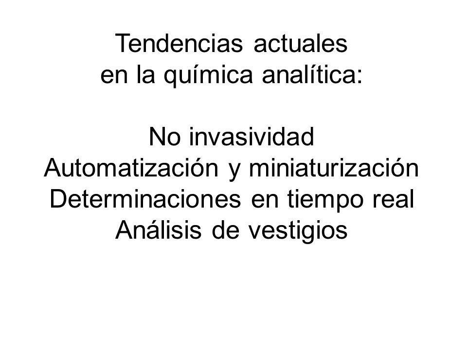 en la química analítica: No invasividad