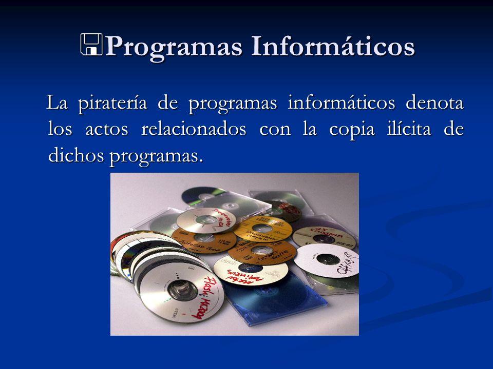 Programas Informáticos