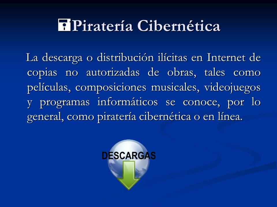 Piratería Cibernética