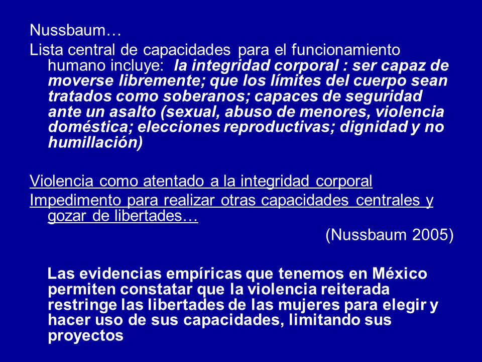 Nussbaum…