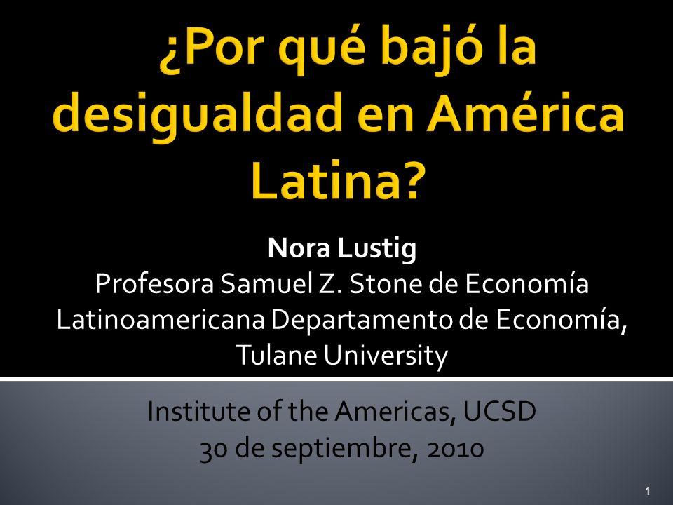 ¿Por qué bajó la desigualdad en América Latina