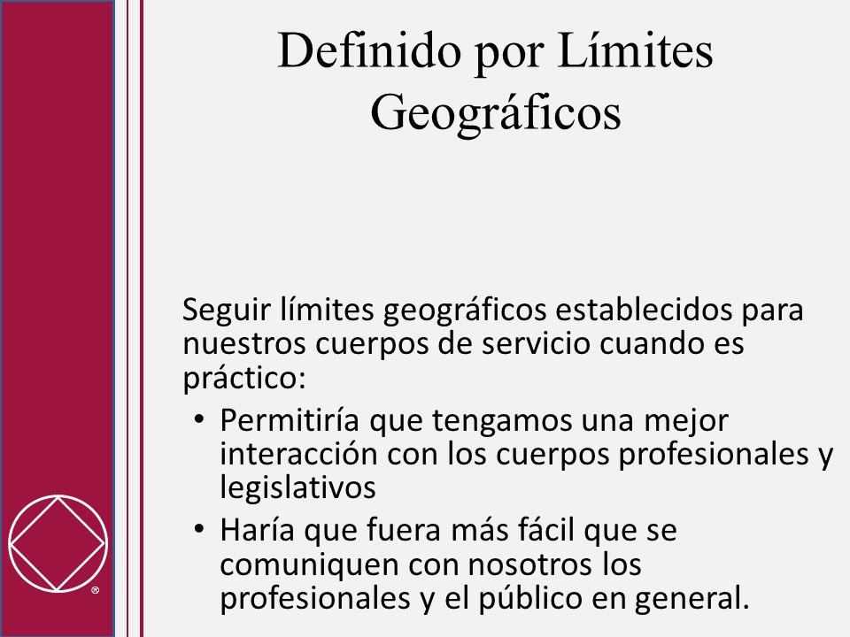 Definido por Límites Geográficos