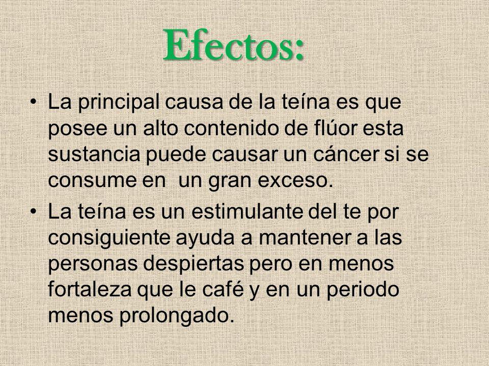 Efectos:
