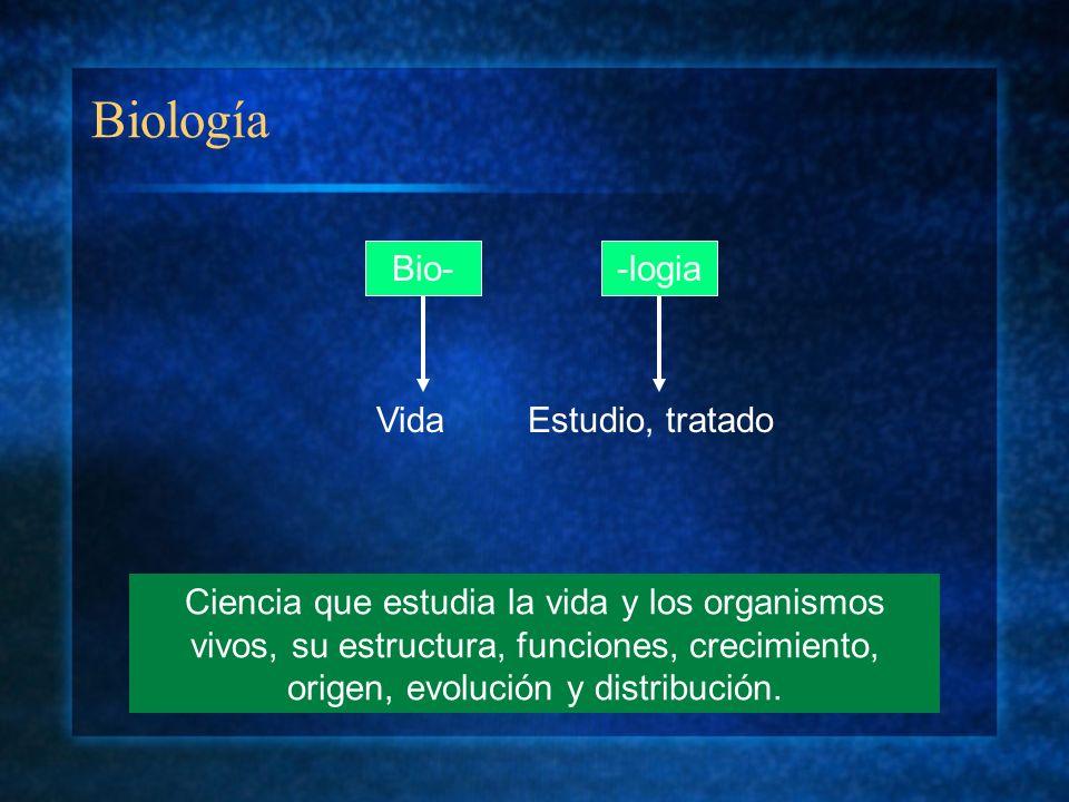 Biología Bio- -logia Vida Estudio, tratado