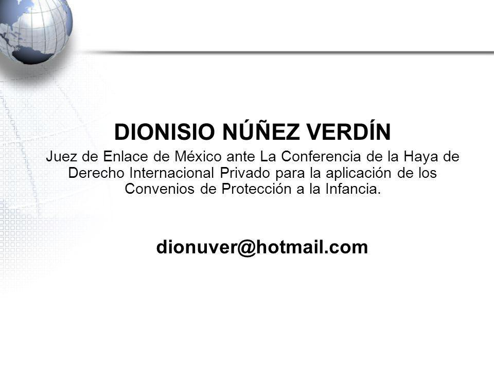 DIONISIO NÚÑEZ VERDÍN dionuver@hotmail.com