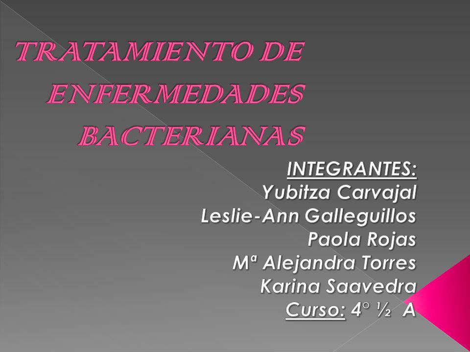 TRATAMIENTO DE ENFERMEDADES BACTERIANAS