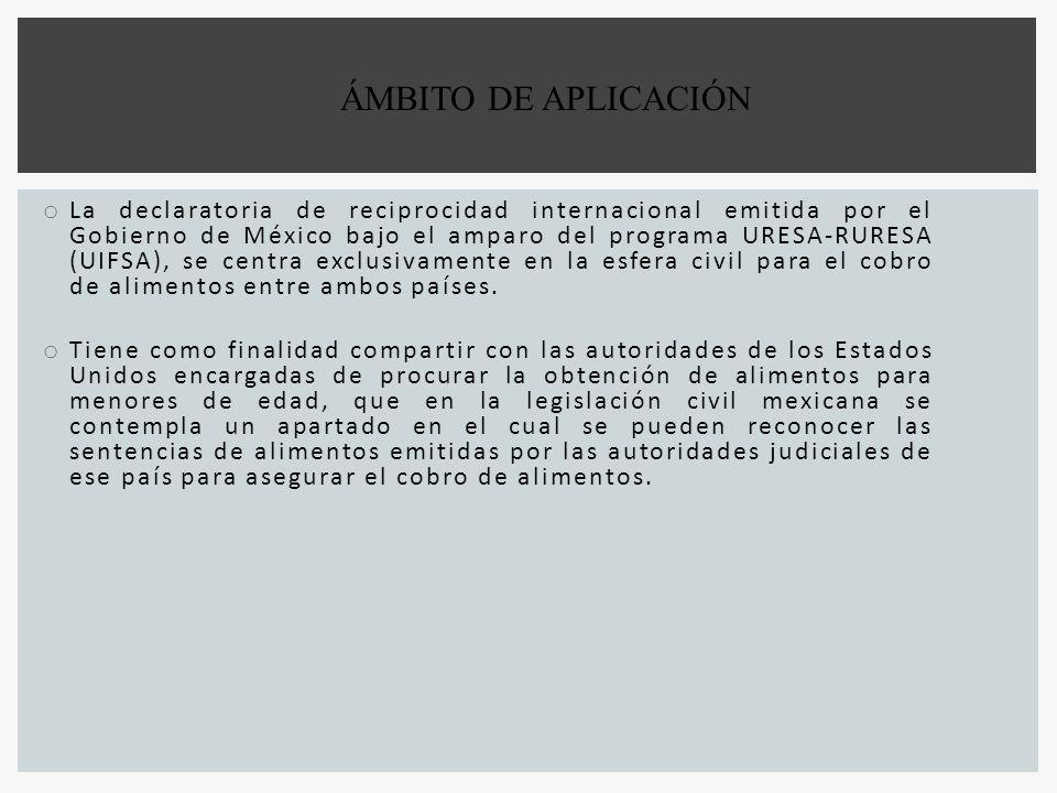 ÁMBITO DE APLICACIÓN