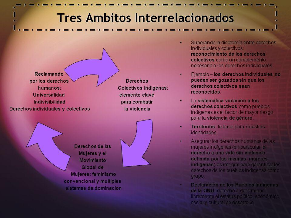Tres Ambitos Interrelacionados