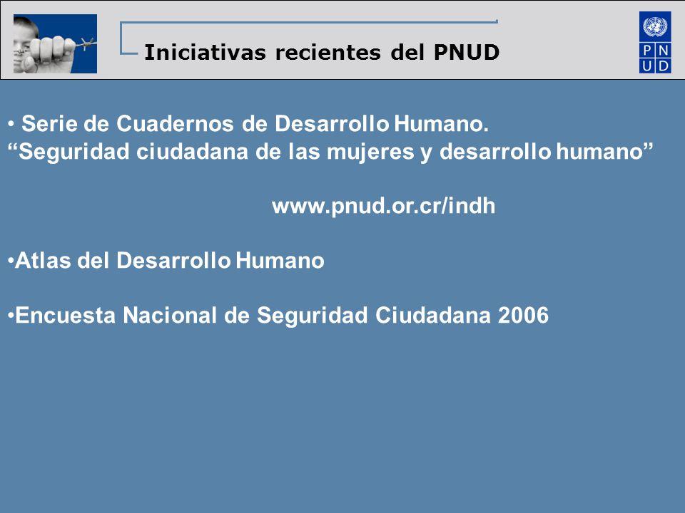 Serie de Cuadernos de Desarrollo Humano.