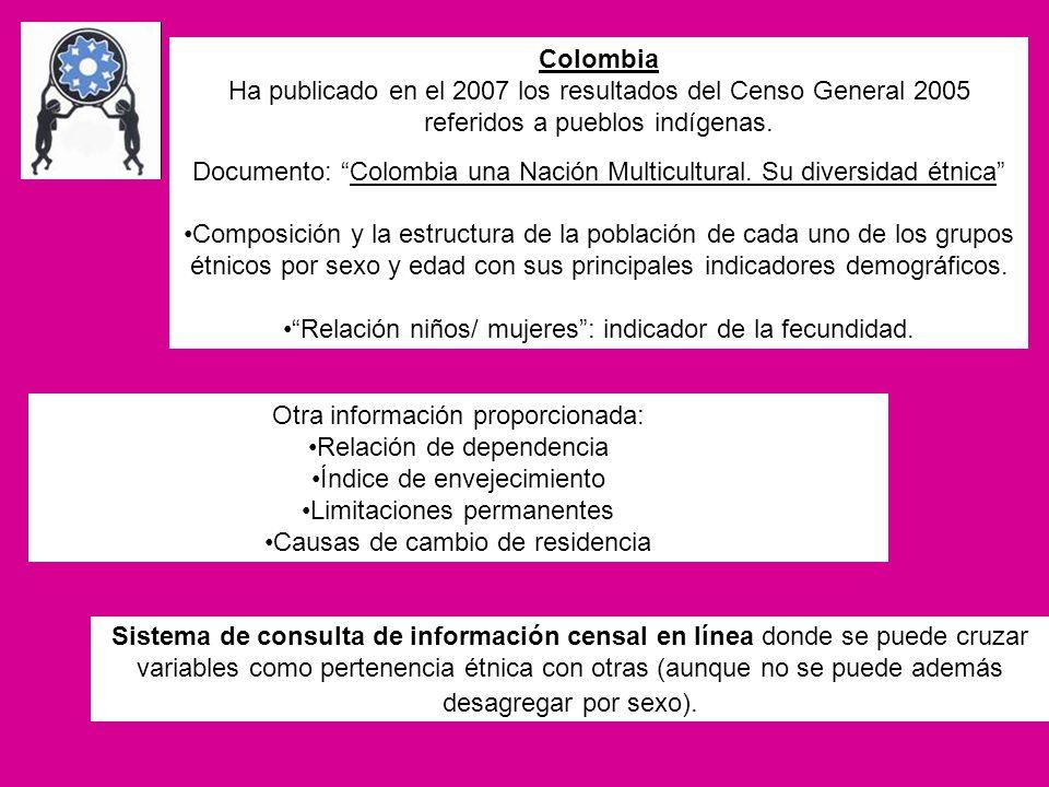 Documento: Colombia una Nación Multicultural. Su diversidad étnica