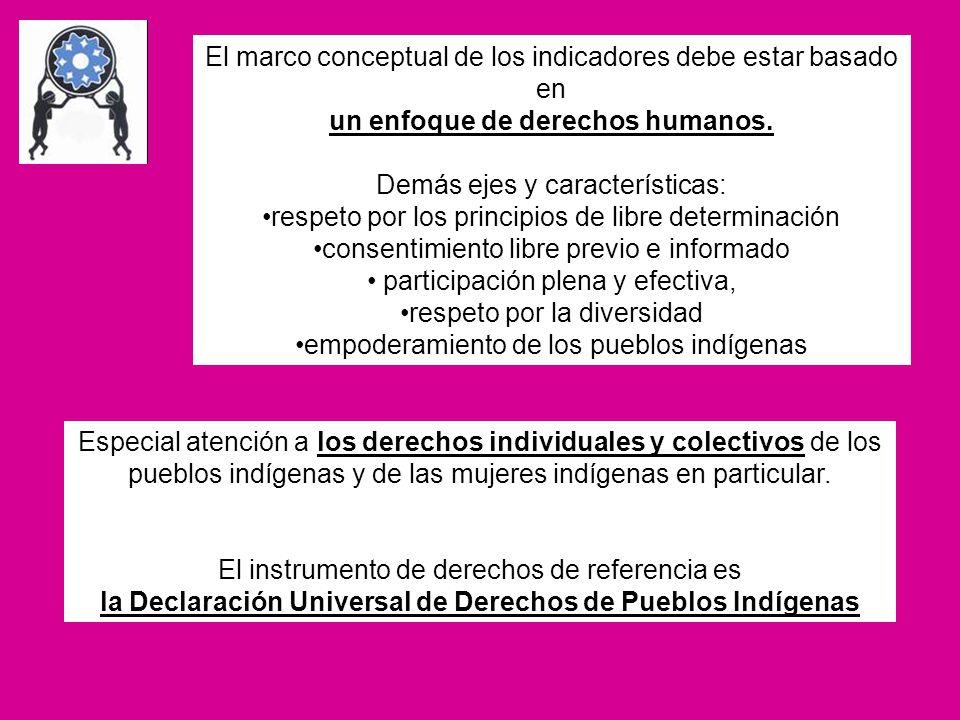 un enfoque de derechos humanos.