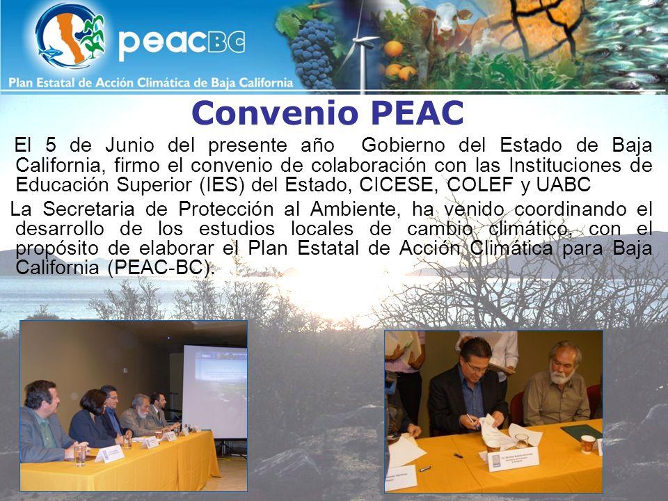Convenio PEAC