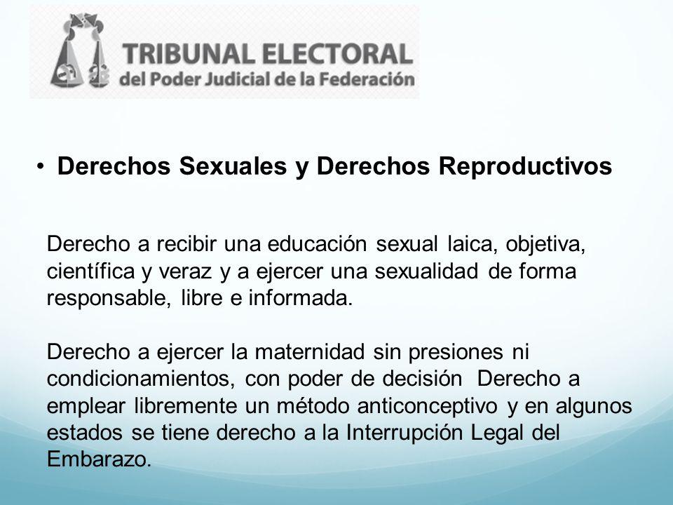 Derechos Sexuales y Derechos Reproductivos