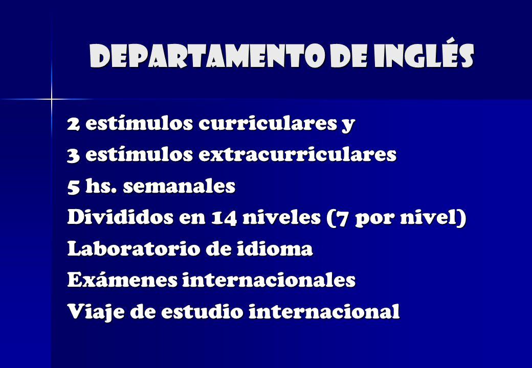 Departamento de Inglés