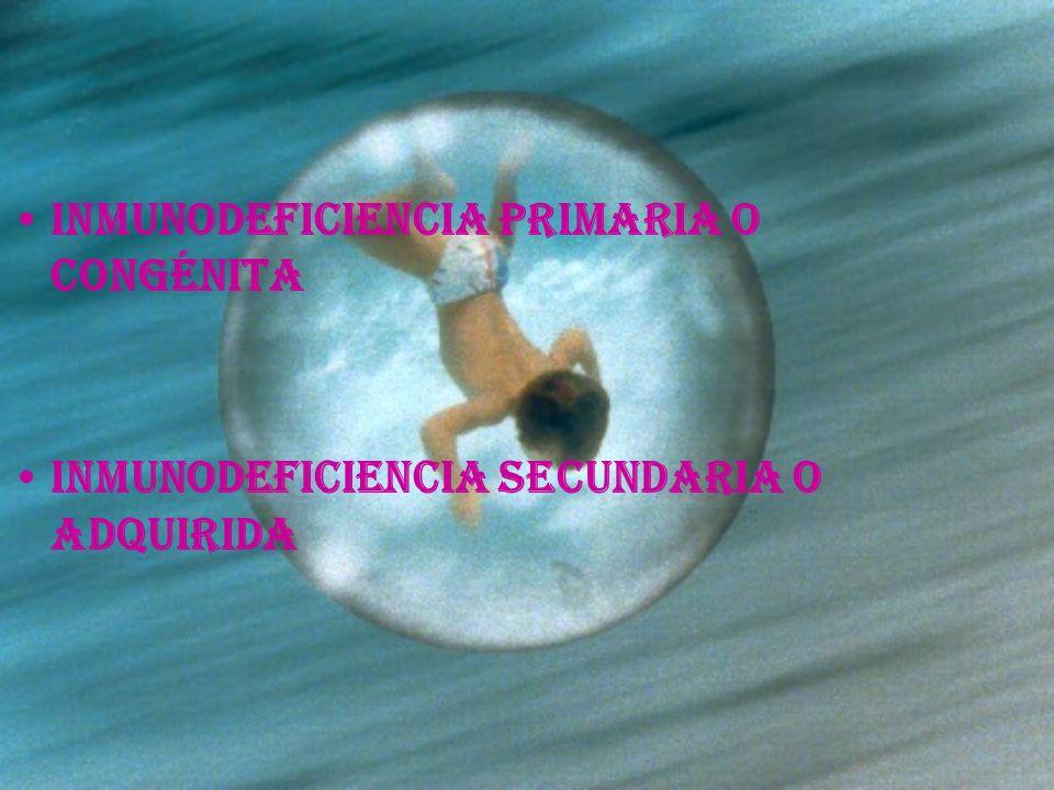 Inmunodeficiencia primaria o congénita