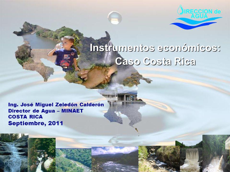 Instrumentos económicos: Caso Costa Rica