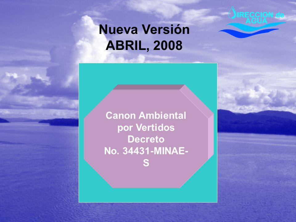 Canon Ambiental por Vertidos