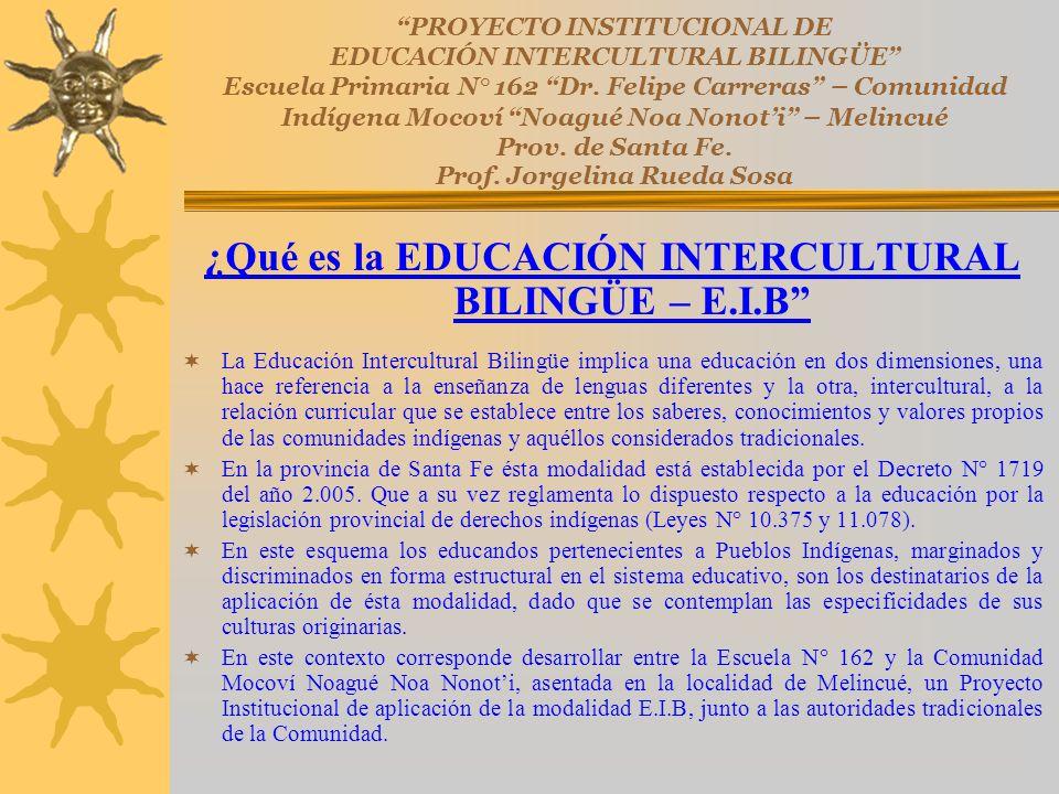 ¿Qué es la EDUCACIÓN INTERCULTURAL BILINGÜE – E.I.B