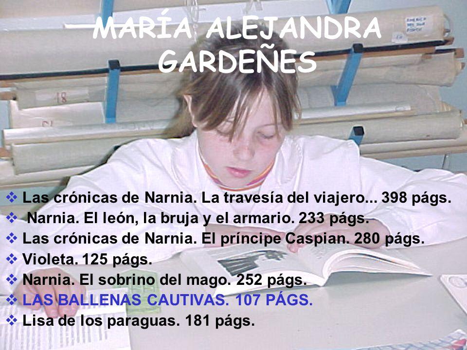 MARÍA ALEJANDRA GARDEÑES