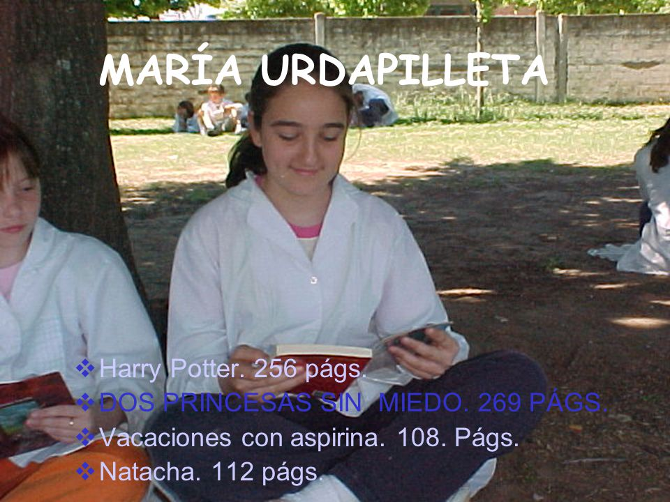 MARÍA URDAPILLETA Harry Potter. 256 págs.