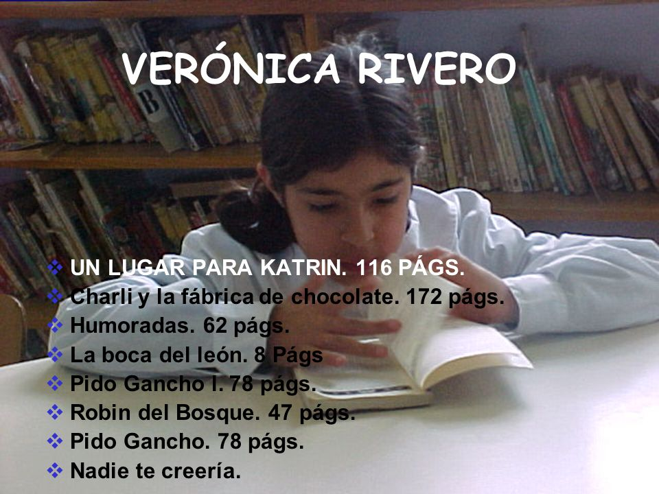 VERÓNICA RIVERO UN LUGAR PARA KATRIN. 116 PÁGS.