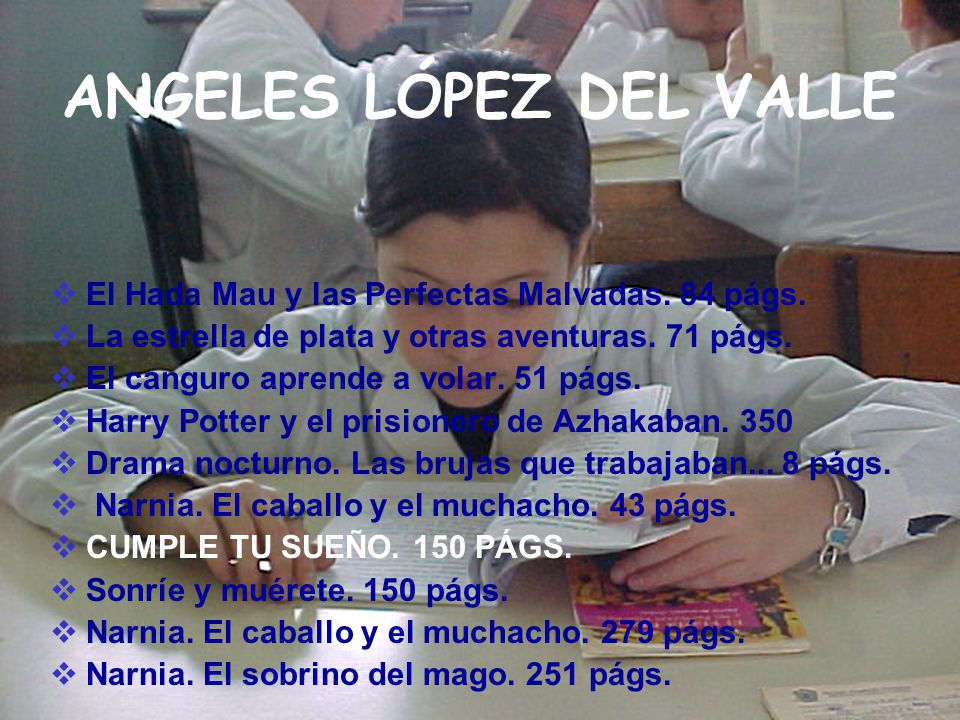 ANGELES LÓPEZ DEL VALLE