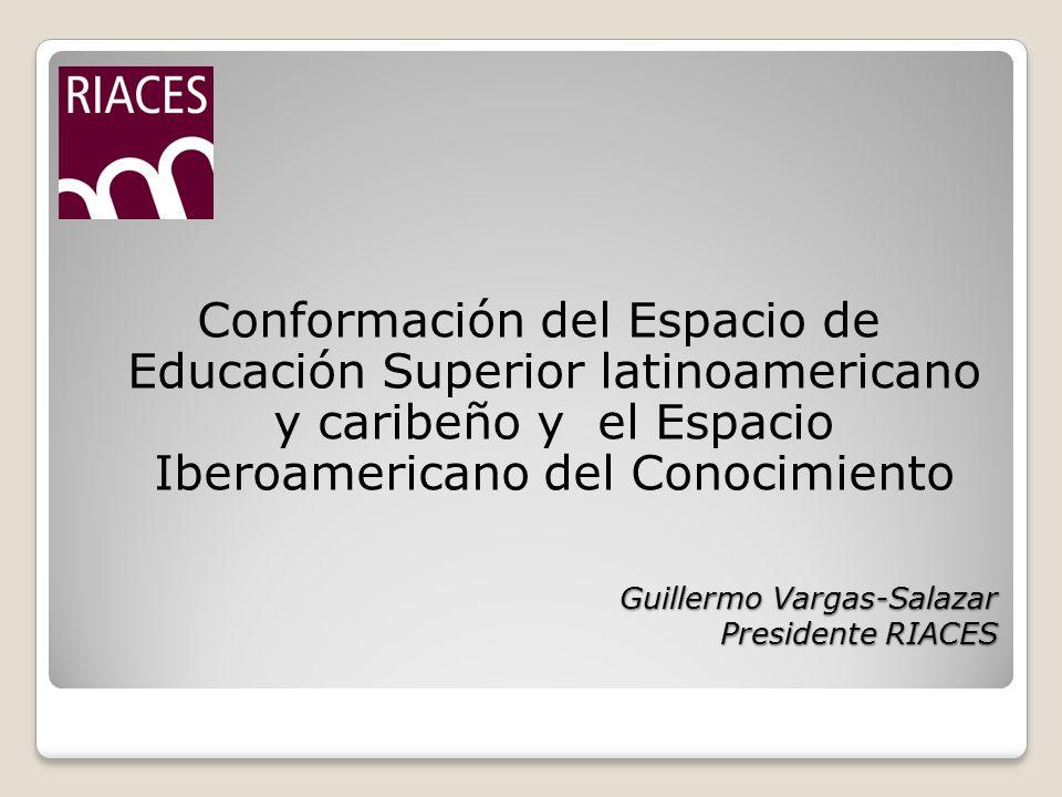Guillermo Vargas-Salazar Presidente RIACES