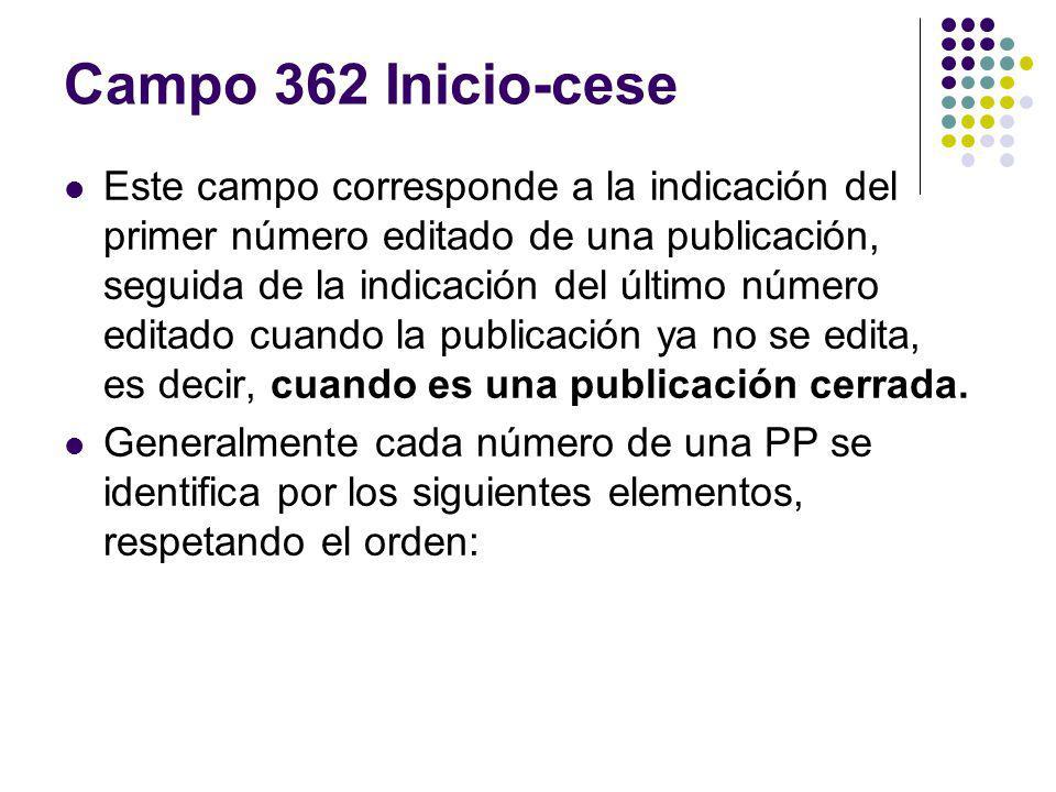 Campo 362 Inicio-cese