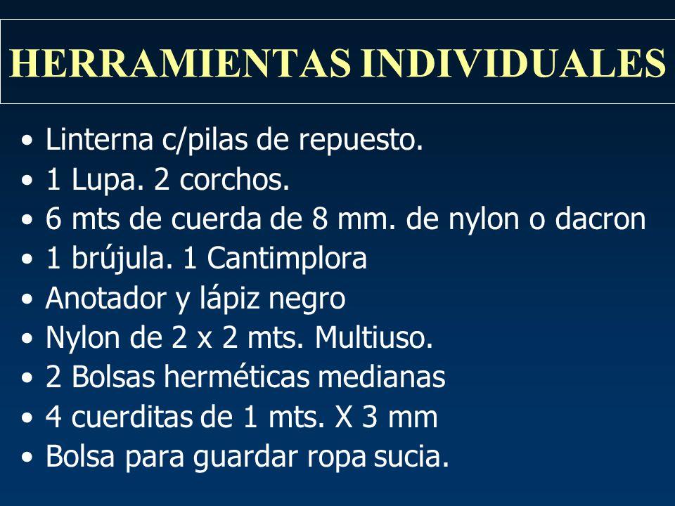 HERRAMIENTAS INDIVIDUALES