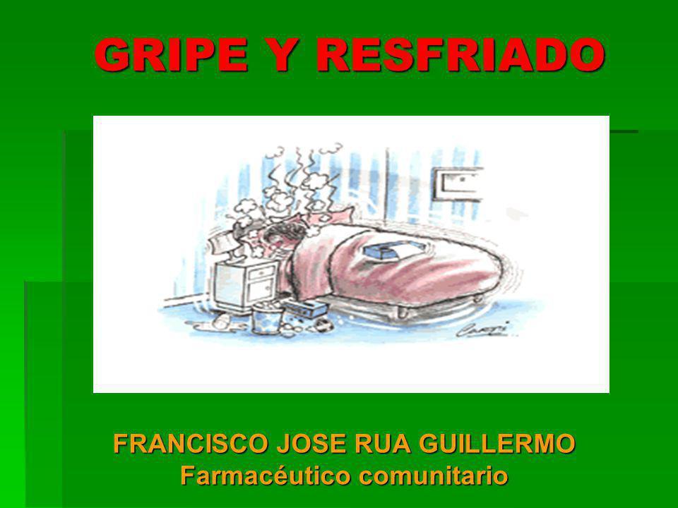 FRANCISCO JOSE RUA GUILLERMO Farmacéutico comunitario