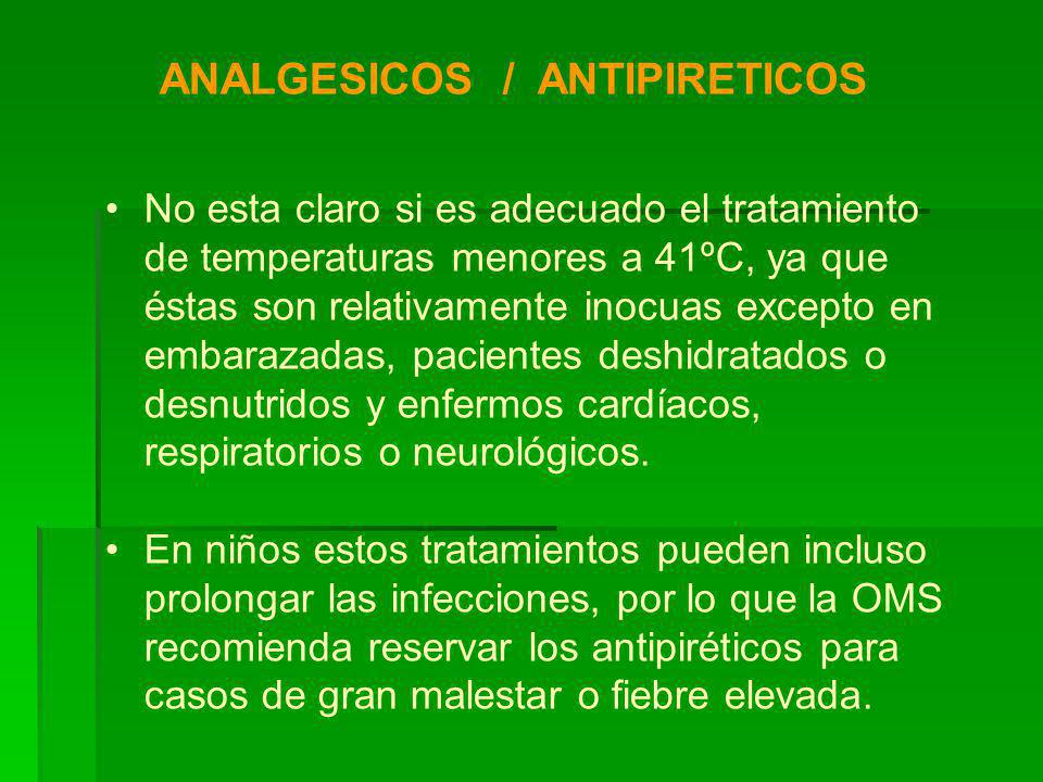 ANALGESICOS / ANTIPIRETICOS